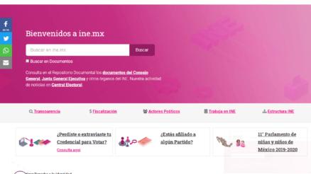 Consultar mi sitio de votación en México 6