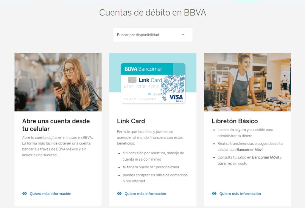 Cómo abrir una cuenta en Bancomer y sus requisitos 1
