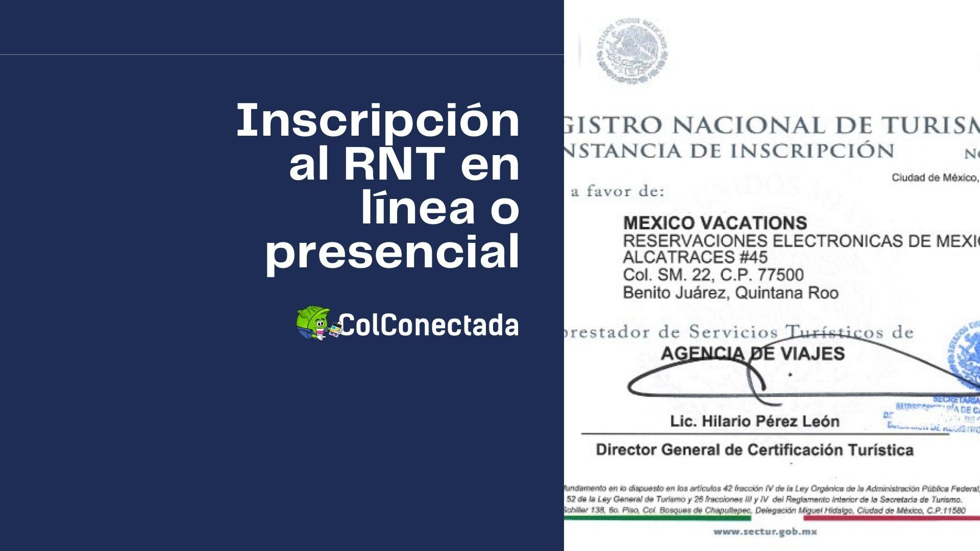 Proceso de inscripción en el Registro Nacional de Turismo 3
