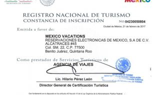 Registro Nacional de Turismo: Proceso de inscripción