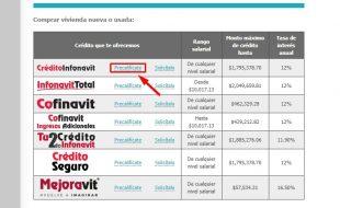 Requisitos para solicitar un crédito hipotecario en Infonavit