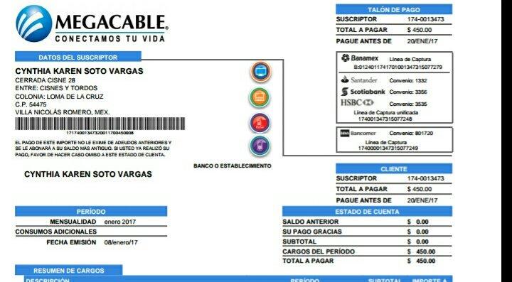 Recibo Megacable: Consulta y métodos de pago 2