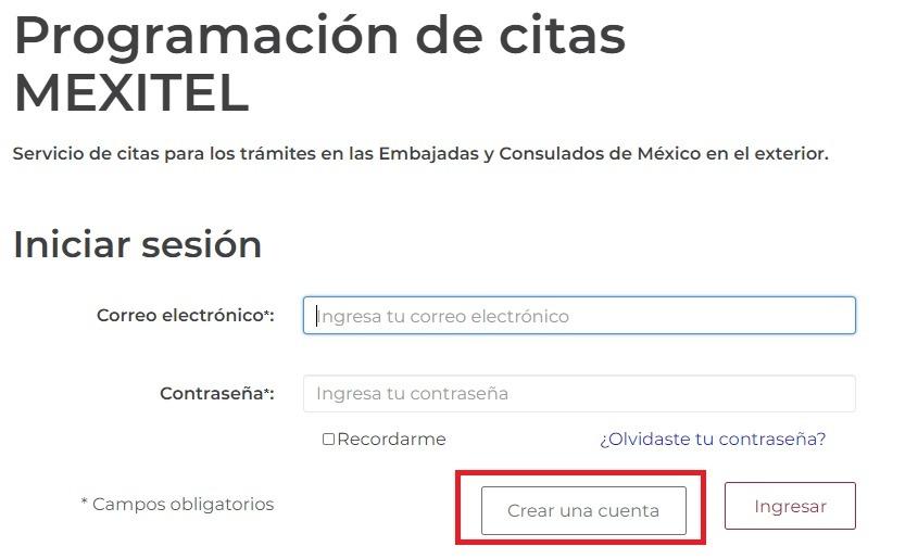 Requisitos para emitir el certificado de matrícula consular 1