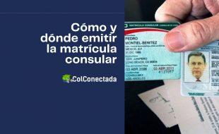 Requisitos para emitir el certificado de matrícula consular