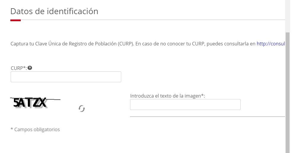 Proceso de inscripción en el RFC para personas físicas 1