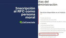 Cómo realizar la inscripción en el RFC para personas morales