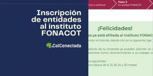 Pasos para gestionar la inscripción de entidades al INFONACOT