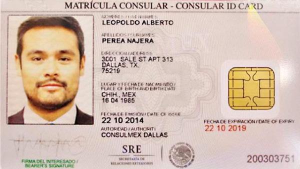 matrícula consular