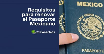 Cómo renovar el pasaporte ordinario para mayores de edad
