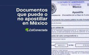 Cómo y dónde apostillar documentos en México