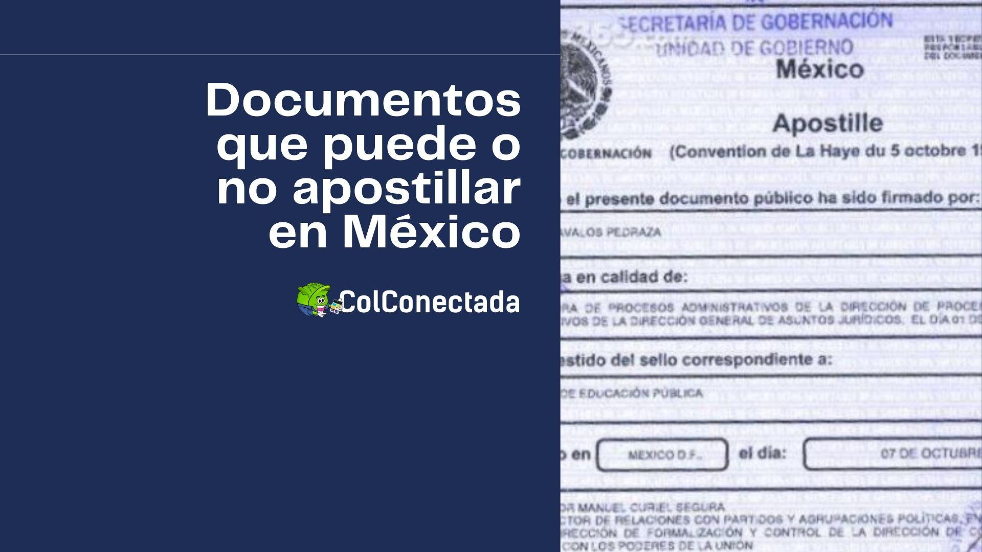 Cómo y dónde apostillar documentos en México 8