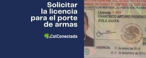 Expedir la licencia de portación de armas en México