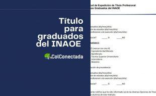 Obtener el título profesional para graduados del INAOE