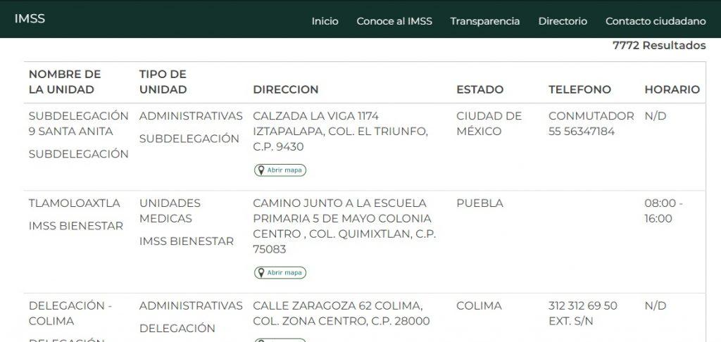 Inscripción a los cursos para derechohabientes del IMSS 2
