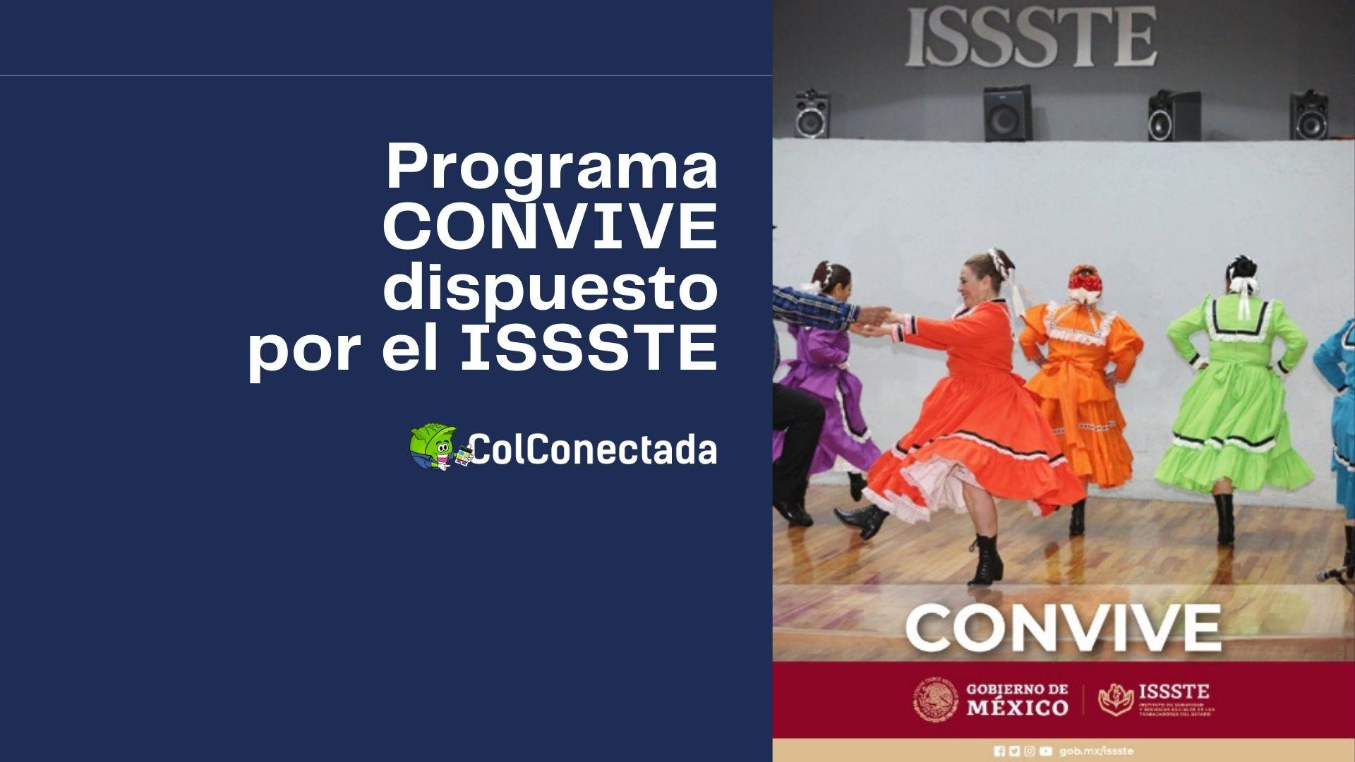 Inscripción al programa Convive para pensionados del ISSSTE 4