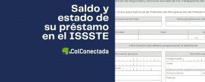 Consulta del saldo y estado de su préstamo ISSSTE