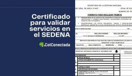 Pasos para solicitar el certificado de servicios en el SEDENA