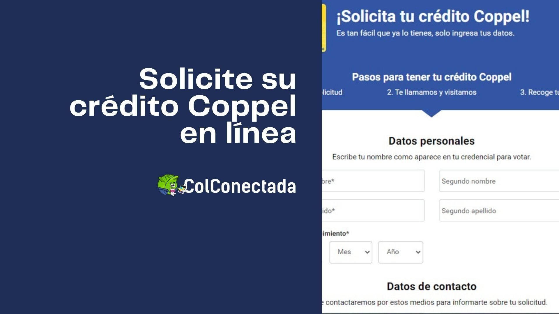 Crédito Coppel: Requisitos y solicitud de préstamo en línea 1