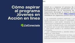Cómo inscribirse al programa Jóvenes en Acción en México