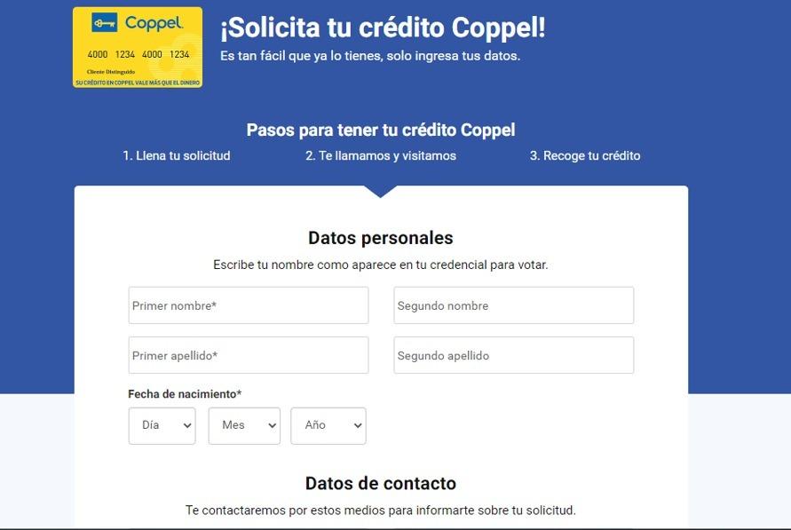 Crédito Coppel: Requisitos y solicitud de préstamo en línea 2