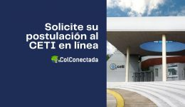 Proceso de solicitud y registro de aspirantes al CETI