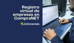Registro de personas físicas o morales en CompraNET