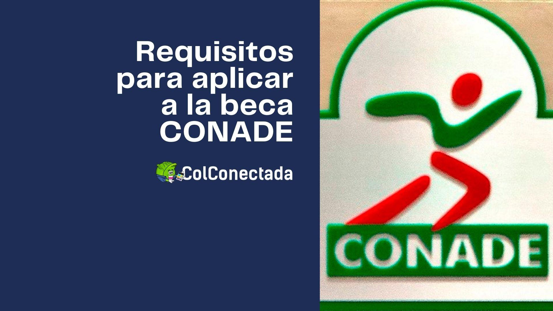 Pasos para aplicar a la beca CONADE en línea (Para deportistas) 2