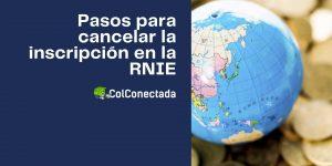 Cómo cancelar la inscripción en el RNIE (Personas físicas, morales o extranjeras)
