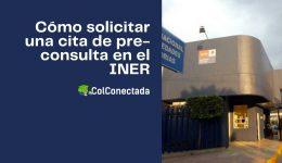 Cómo solicitar una cita de pre-consulta en el INER
