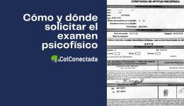 Requisitos para solicitar el examen Psicofísico en México