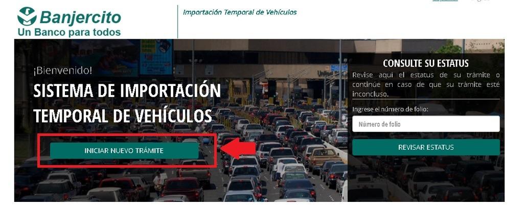 Solicitar permiso de importación temporal de un vehículo extranjero 2